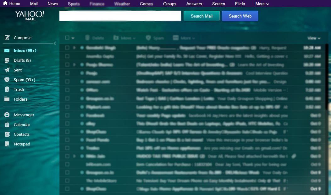 Have you seen the new Yahoo mail on PC ? – Aetomatic