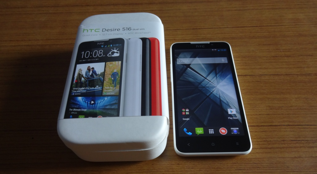 HTC Desire 516 Unboxing