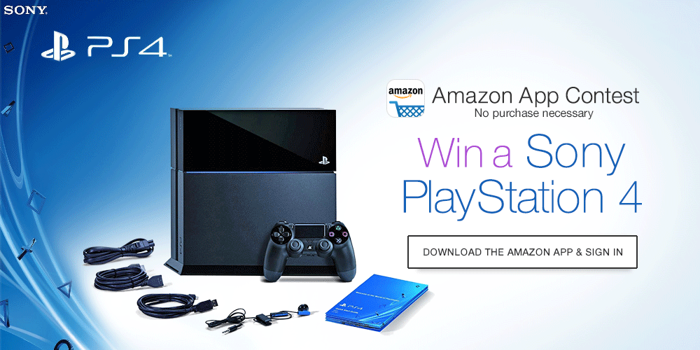 Want a PS4? Amazon might give you one for free