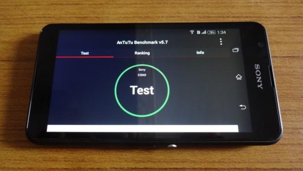 Sony Xperia E4 Benchmark