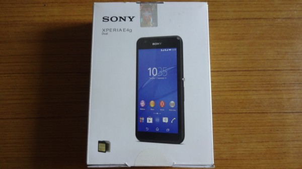 Sony Xperia E4G Box
