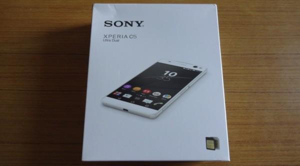 Sony Xperia C5 Ultra Box