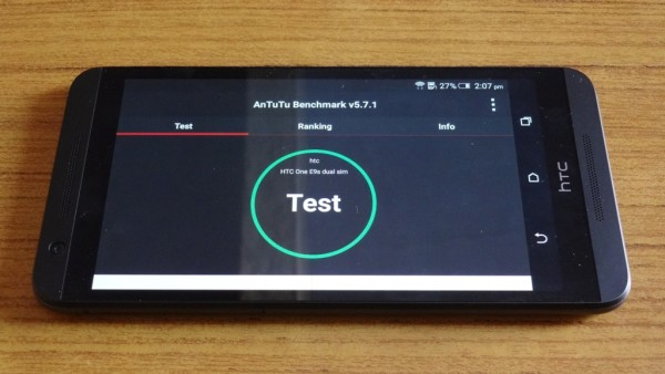 HTC One E9s Benchmark