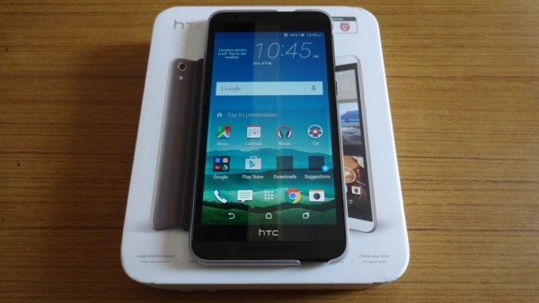 HTC One E9s Unboxing
